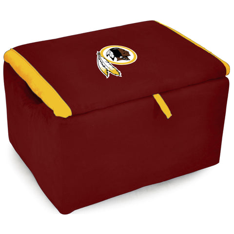 Imperial Washington Redskins Storage Bench