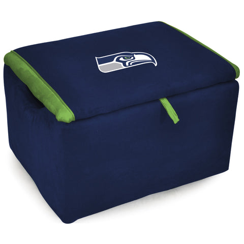 Imperial Seattle Seahawks Storage Bench