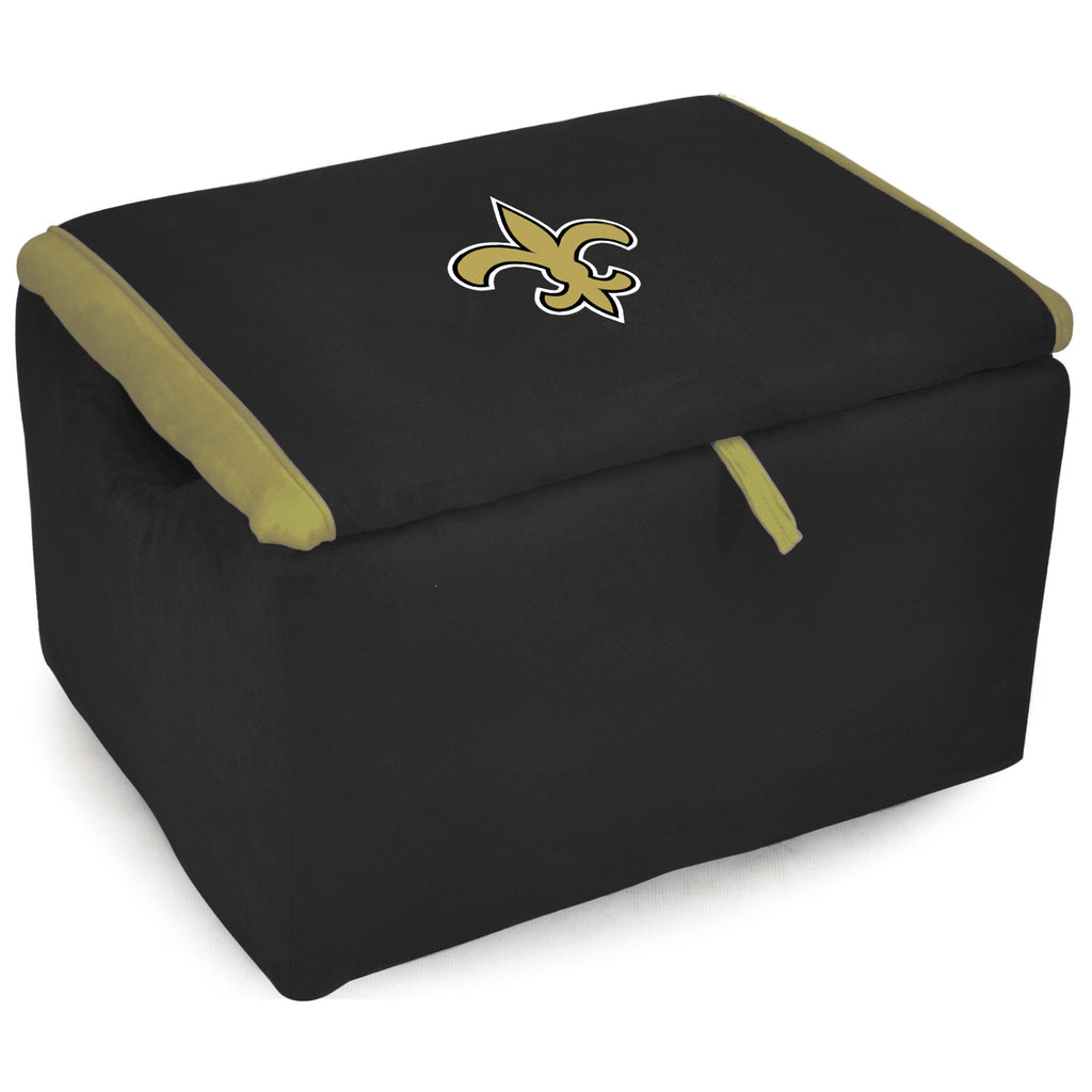 Imperial New Orleans Saints Storage Bench