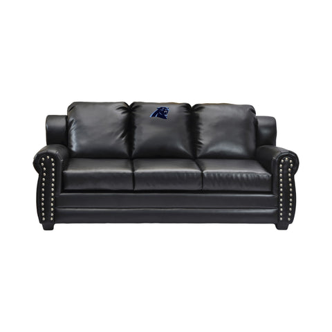 Imperial Carolina Panthers Coach Leather Sofa