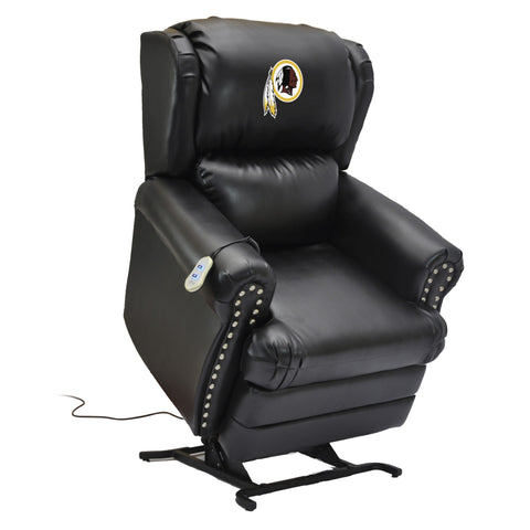 Imperial Washington Redskins Leather Coach Lift Recliner