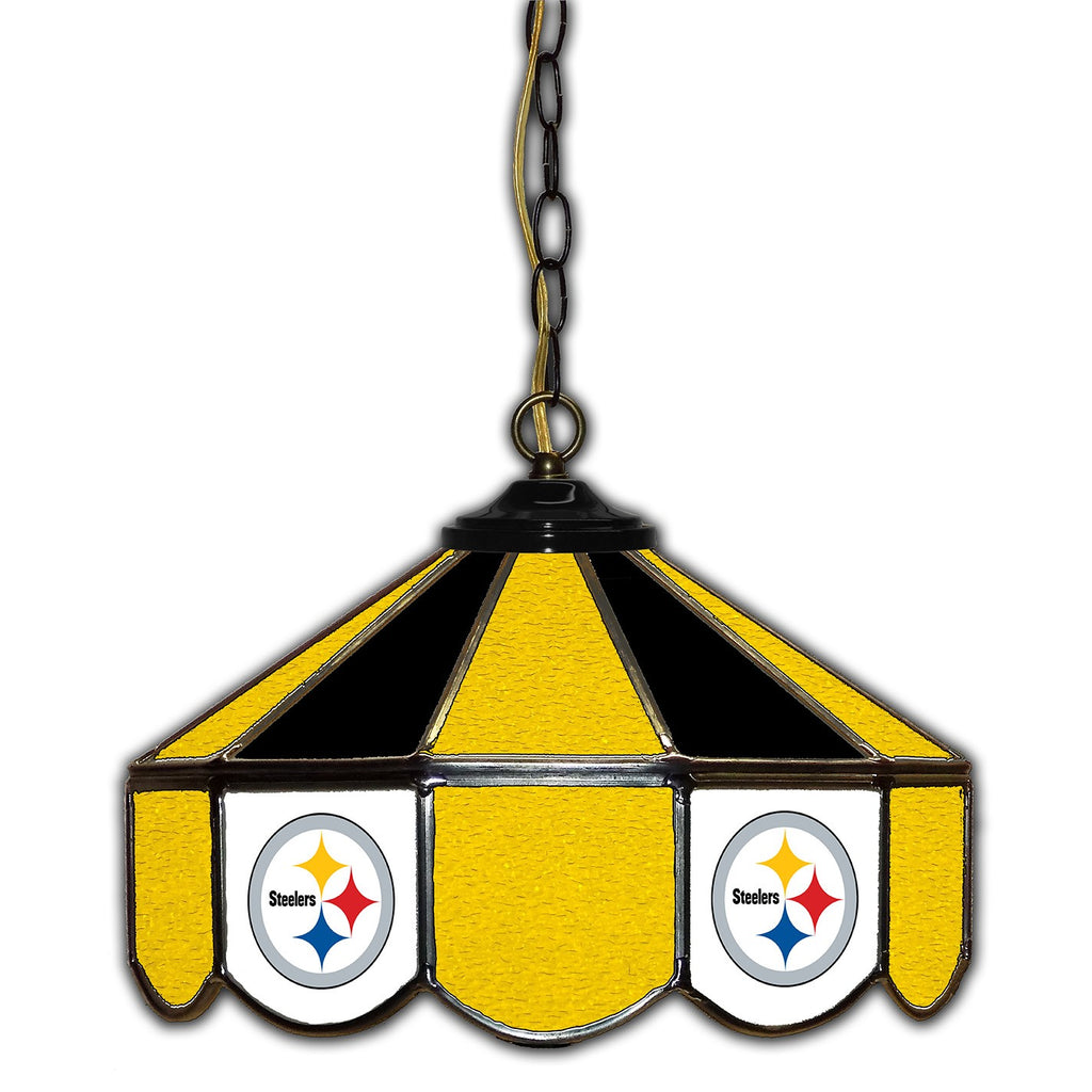 Imperial Pittsburgh Steelers 14-in. Stained Glass Pub Light