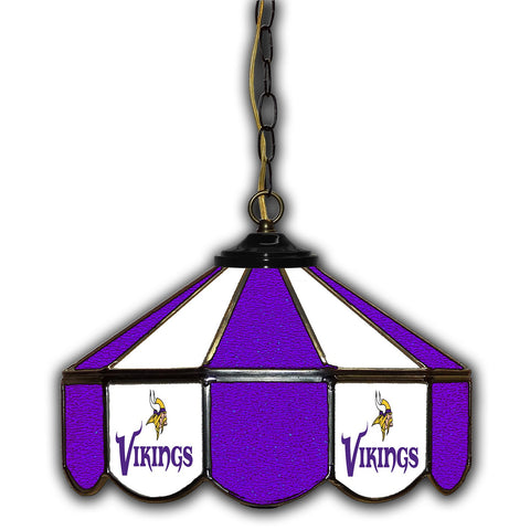 Imperial Minnesota Vikings 14-in. Stained Glass Pub Light
