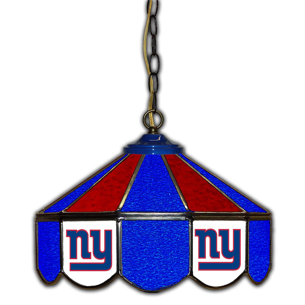 Imperial New York Giants 14-in. Stained Glass Pub Light