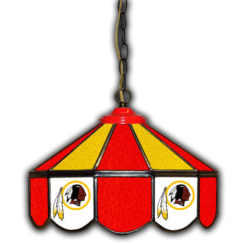 Imperial Washington Redskins 14-in. Stained Glass Pub Light