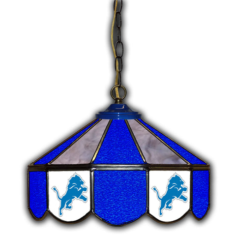 Imperial Detroit Lions 14-in. Stained Glass Pub Light