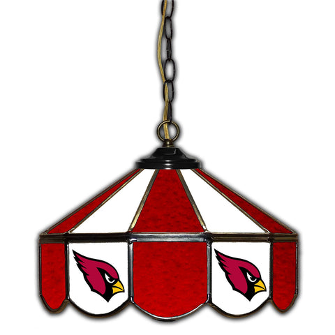 Imperial Arizona Cardinals 14-in. Stained Glass Pub Light