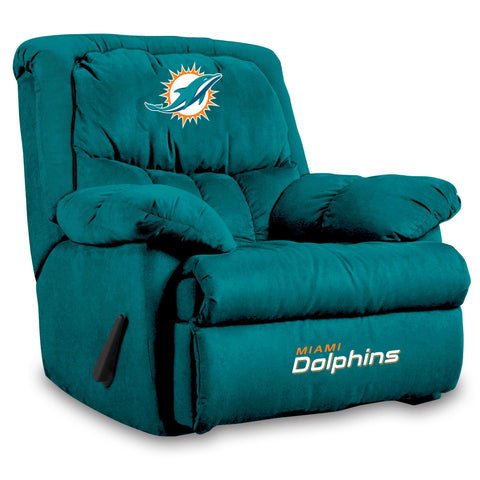 Imperial Miami Dolphins Microfiber Home Team Recliner