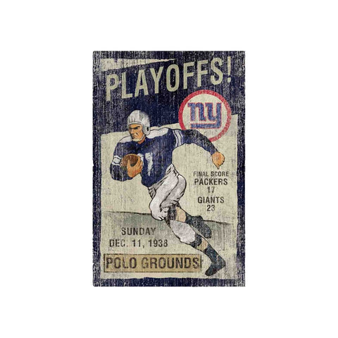 Imperial New York Giants Wall Art