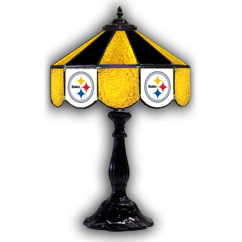 "Imperial Pittsburgh Steelers 21"" Glass Table Lamp"