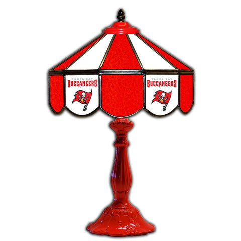 "Imperial Tampa Bay Buccaneers 21"" Glass Table Lamp"