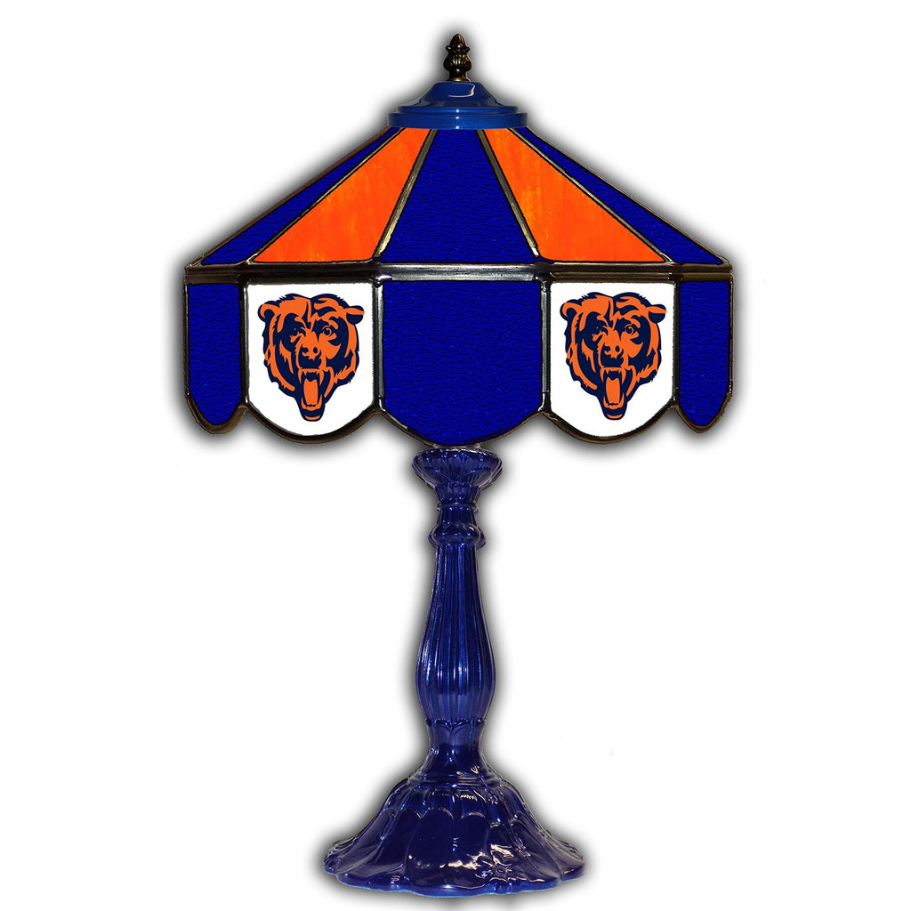"Imperial Chicago Bears 21"" Glass Table Lamp"