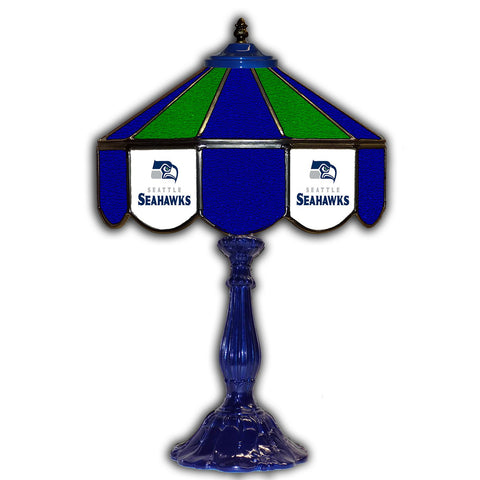 "Imperial Seattle Seahawks 21"" Glass Table Lamp"