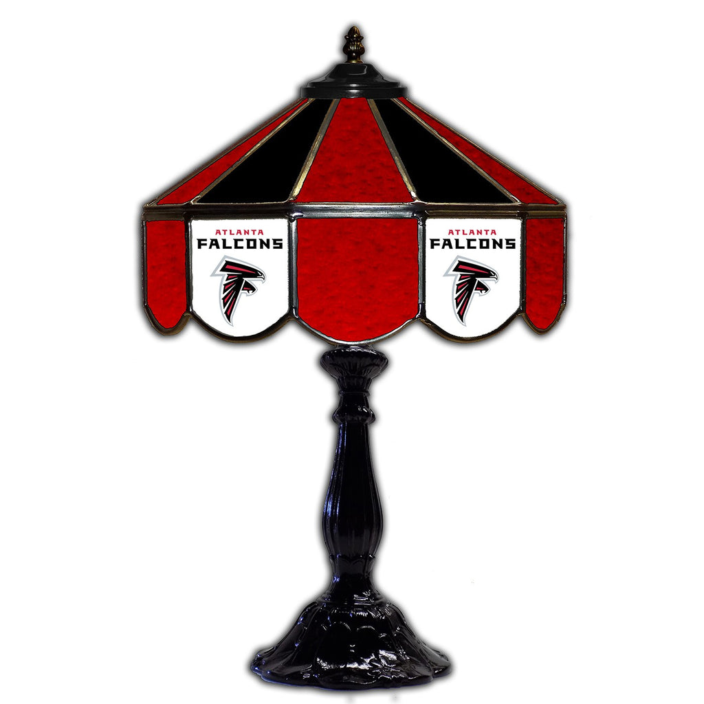 "Imperial Atlanta Falcons 21"" Glass Table Lamp"