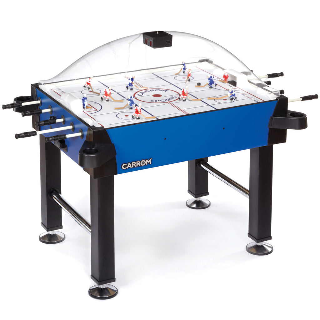 Carrom Signature Stick Hockey On Legs in Blue