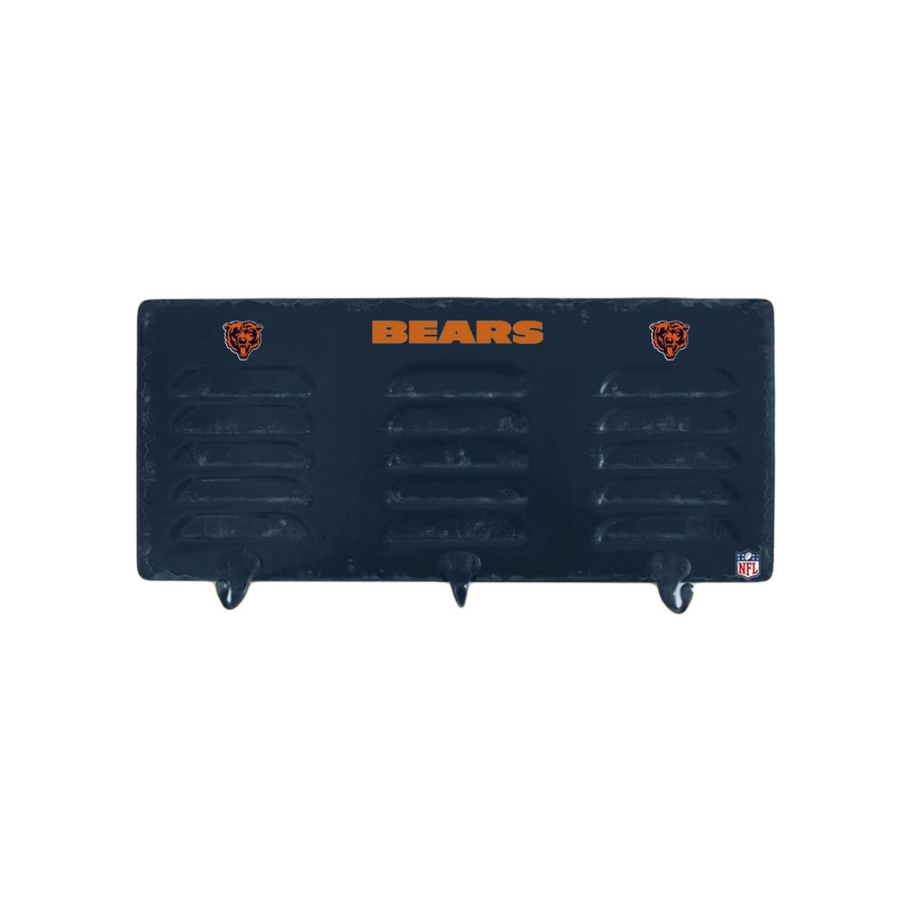 Imperial Chicago Bears 3 Hook Metal Locker Coat Rack