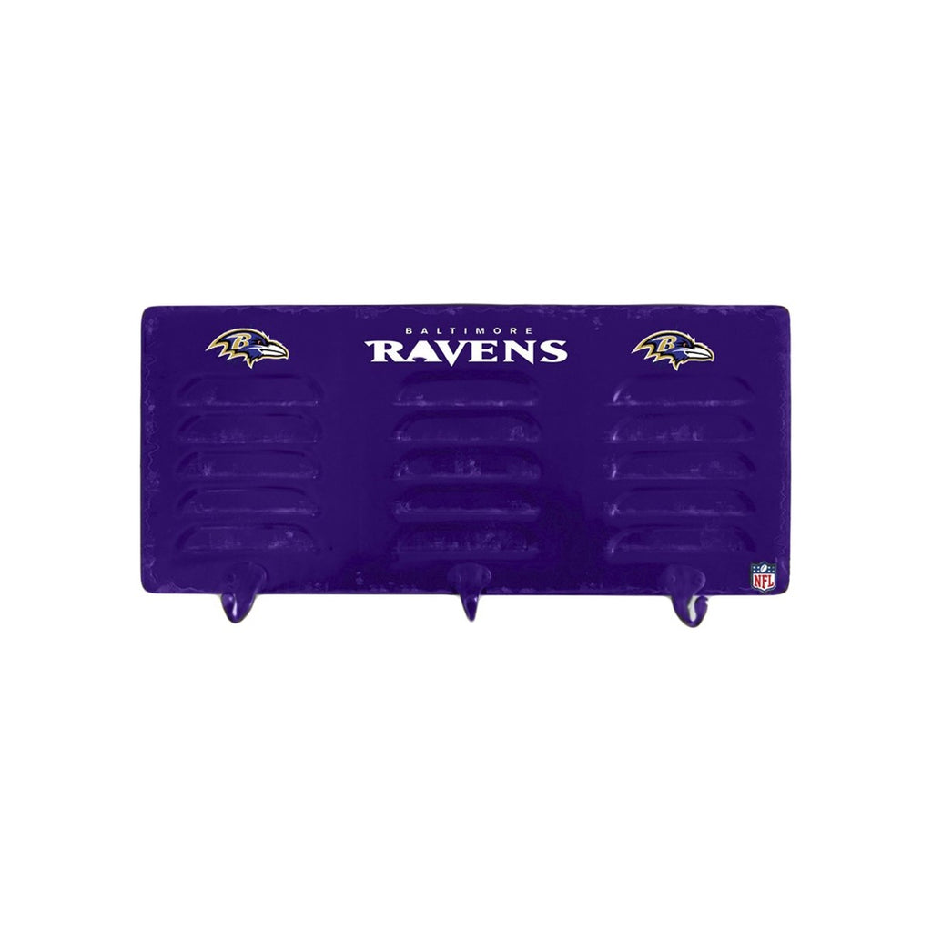 Imperial Baltimore Ravens 3 Hook Metal Locker Coat Rack