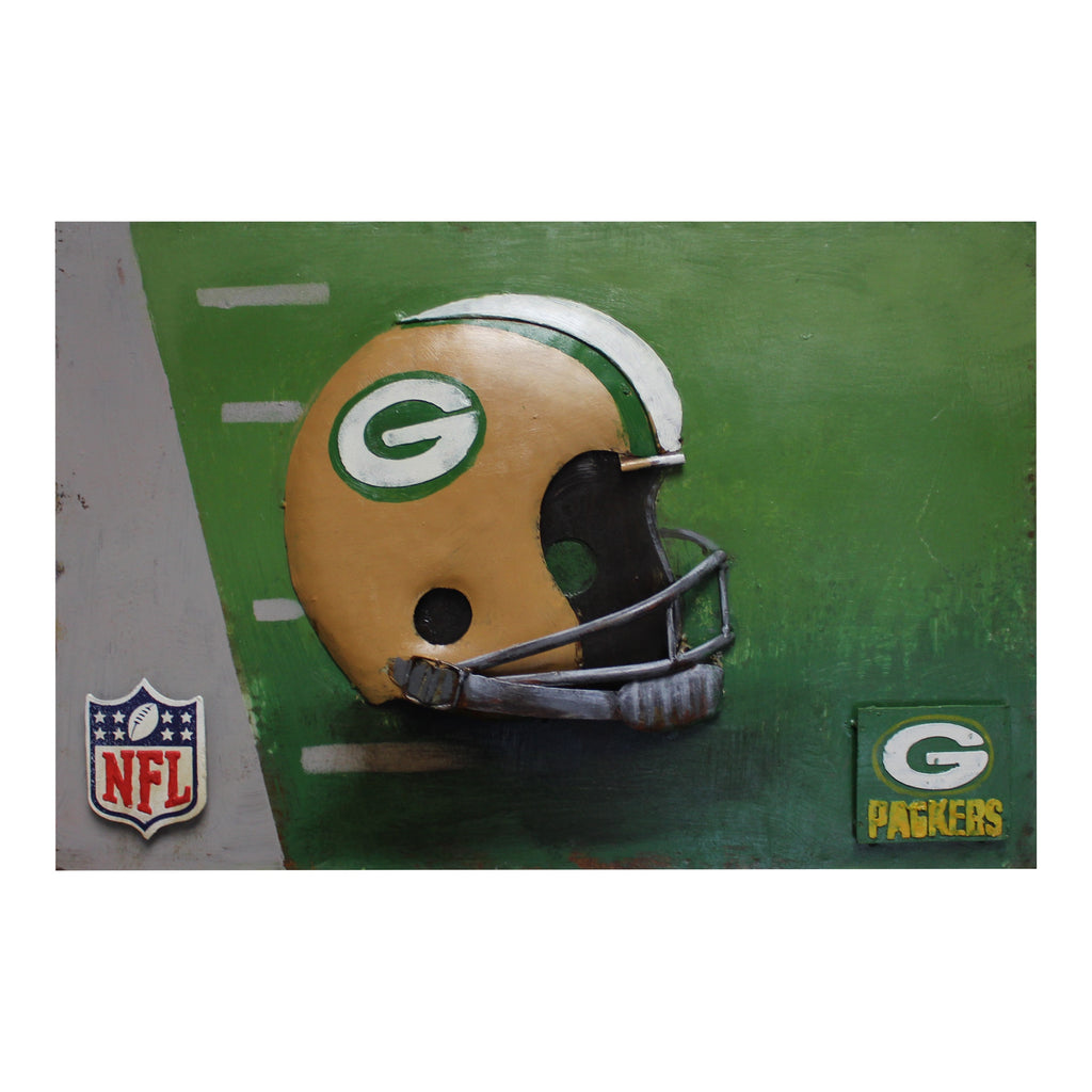 Imperial Green Bay Packers Metal Wall Art