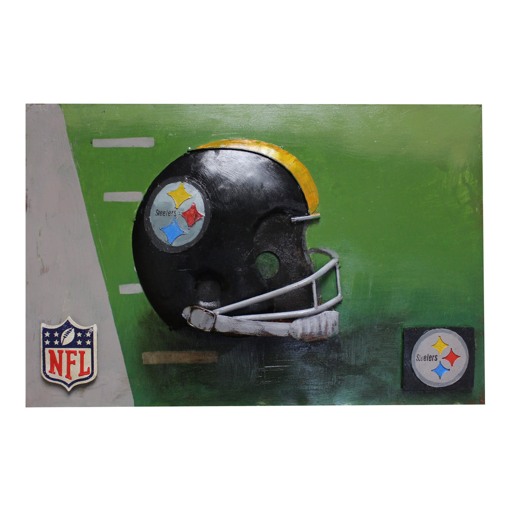 Imperial Pittsburgh Steelers Metal Wall Art