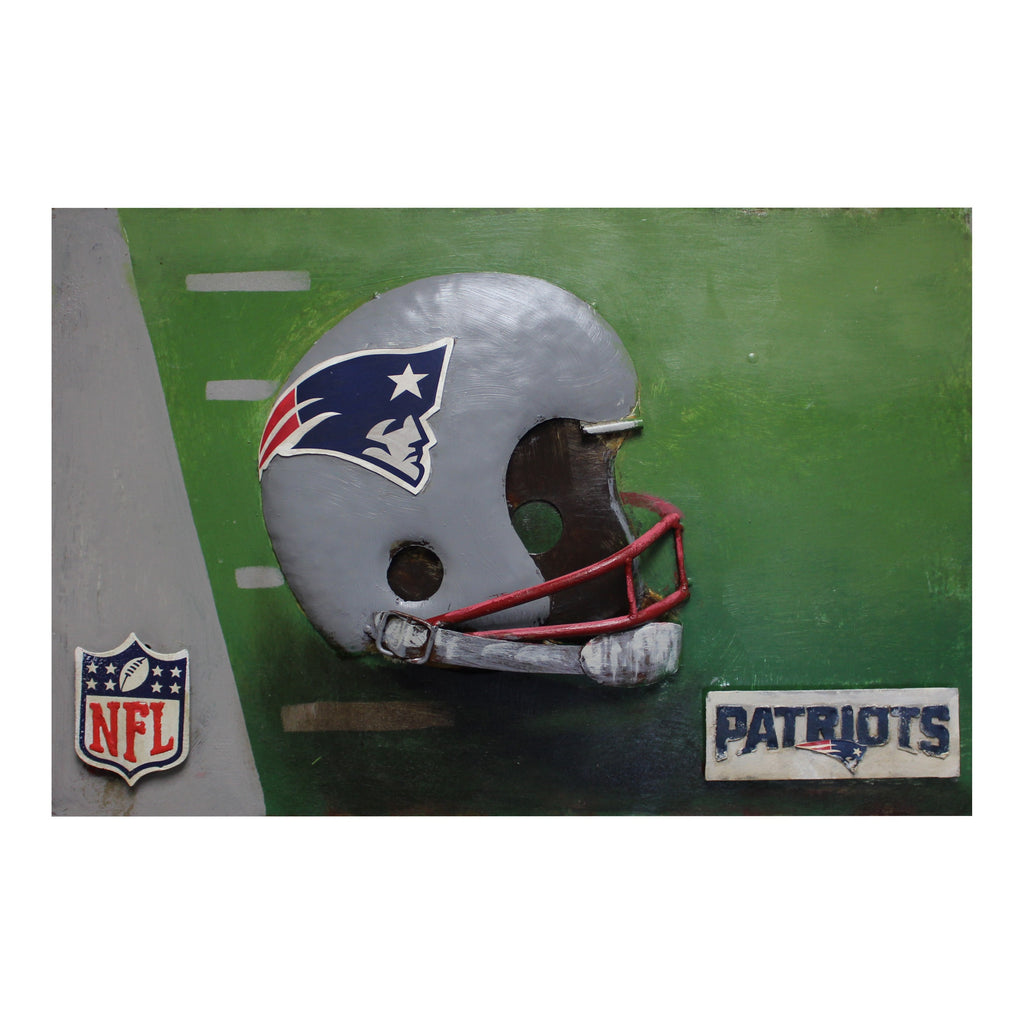 Imperial New England Patriots Metal Wall Art