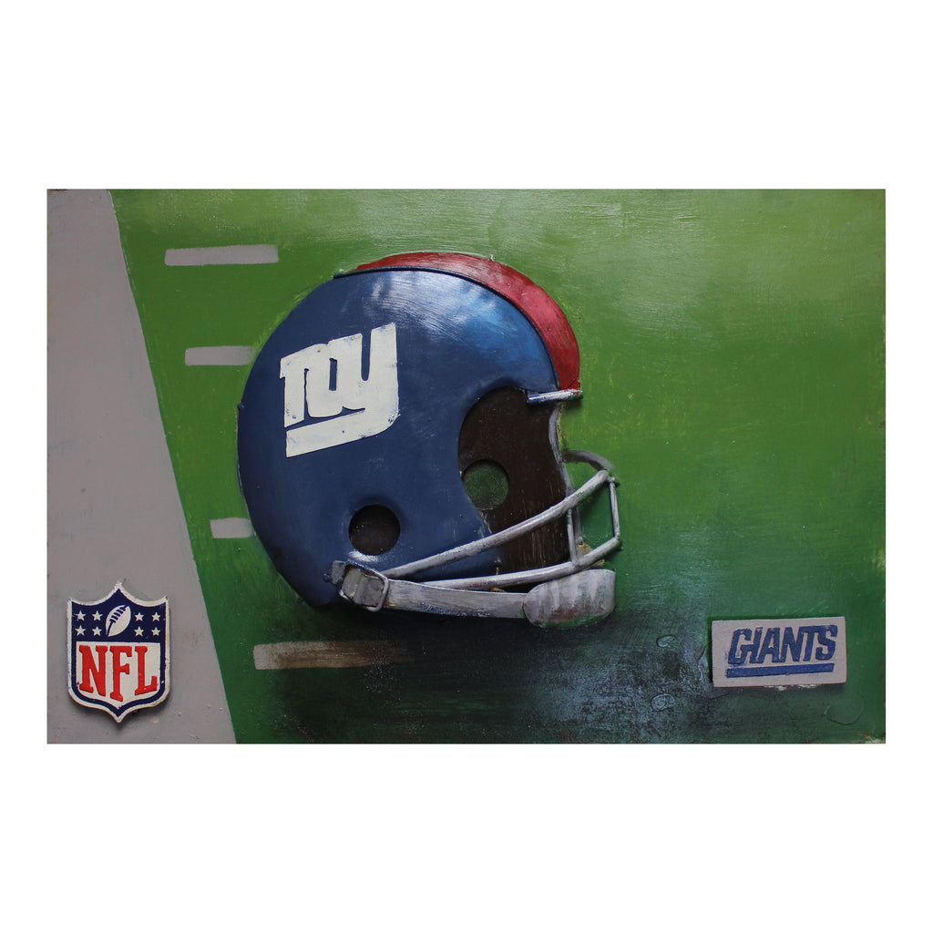 Imperial New York Giants Metal Wall Art
