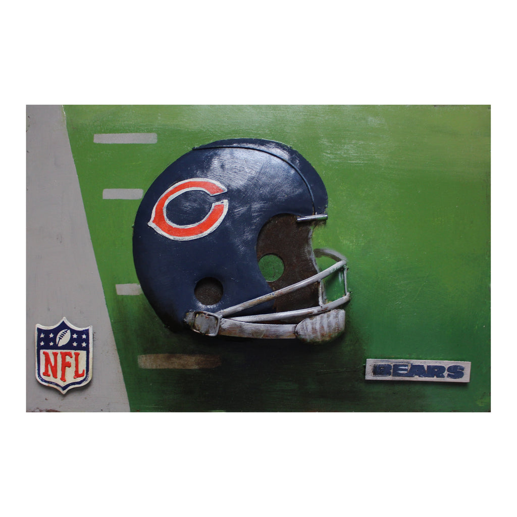 Imperial Chicago Bears Metal Wall Art