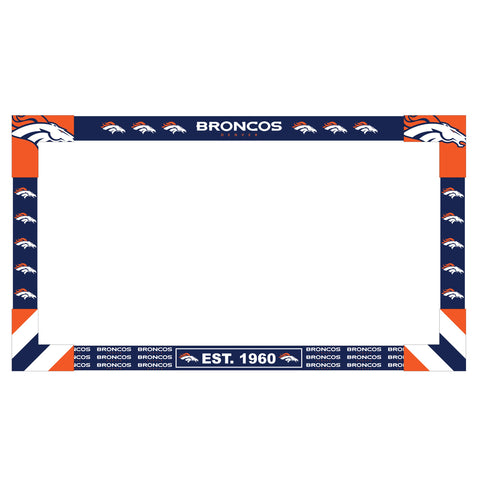 Imperial Denver Broncos Big Game TV Frame