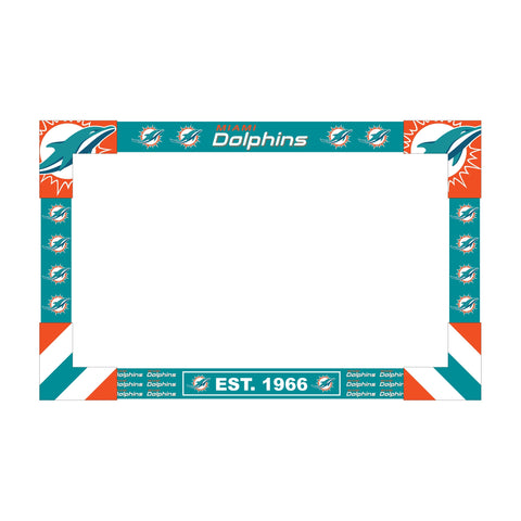 Imperial Miami Dolphins Big Game Tv Frame