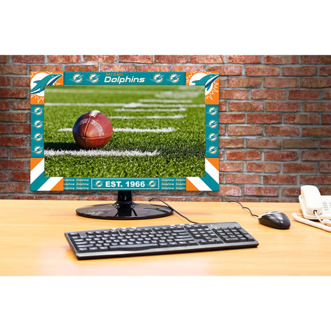 Imperial Miami Dolphins Big Game Monitor Frame