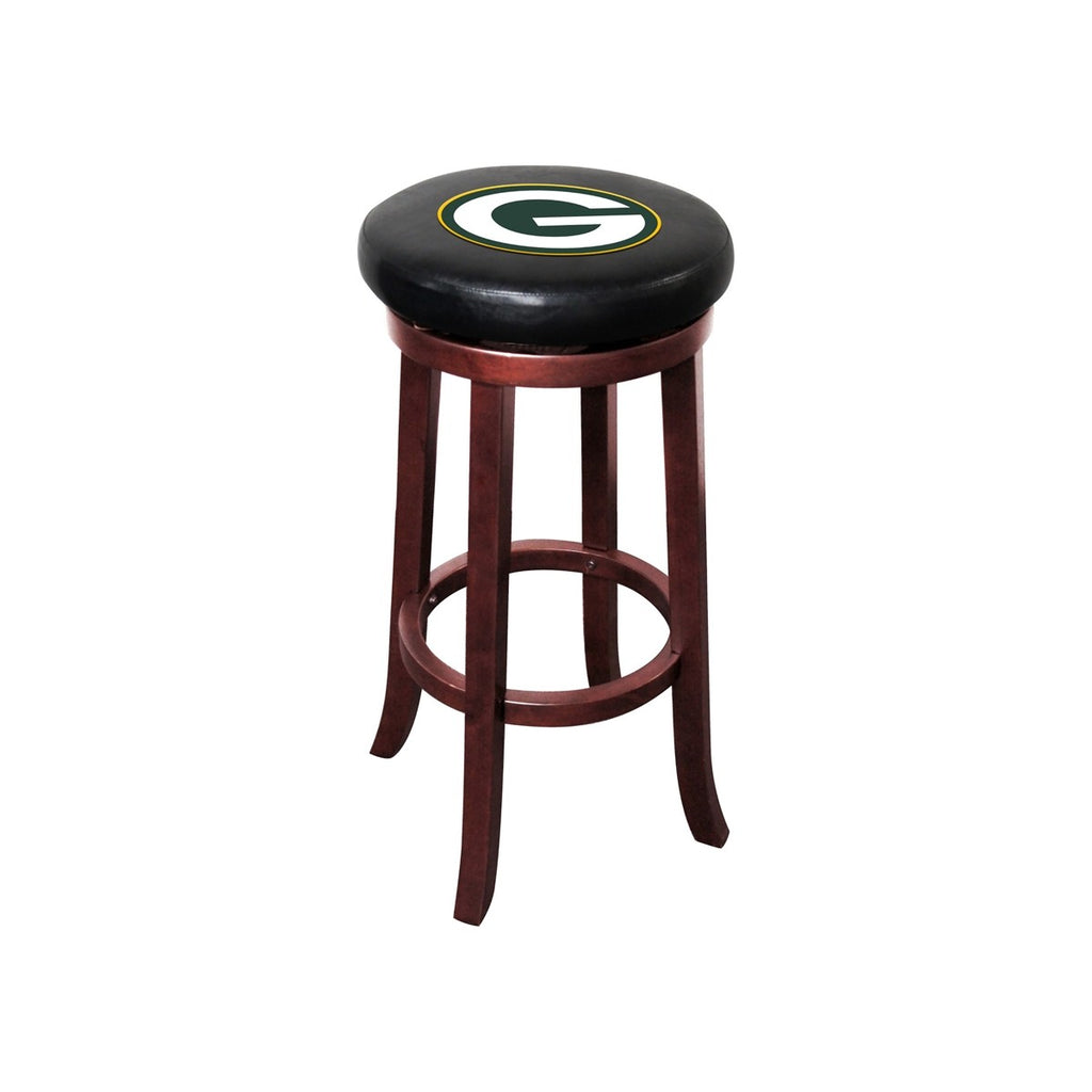 Imperial Green Bay Packers Wood Bar Stool