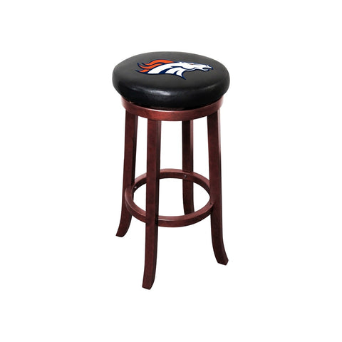 Imperial Denver Broncos Wood Bar Stool