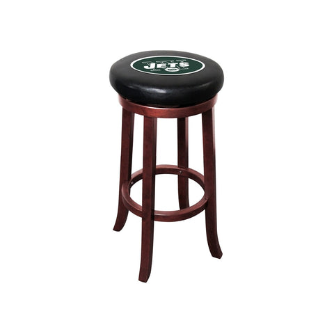 Imperial New York Jets Wood Bar Stool