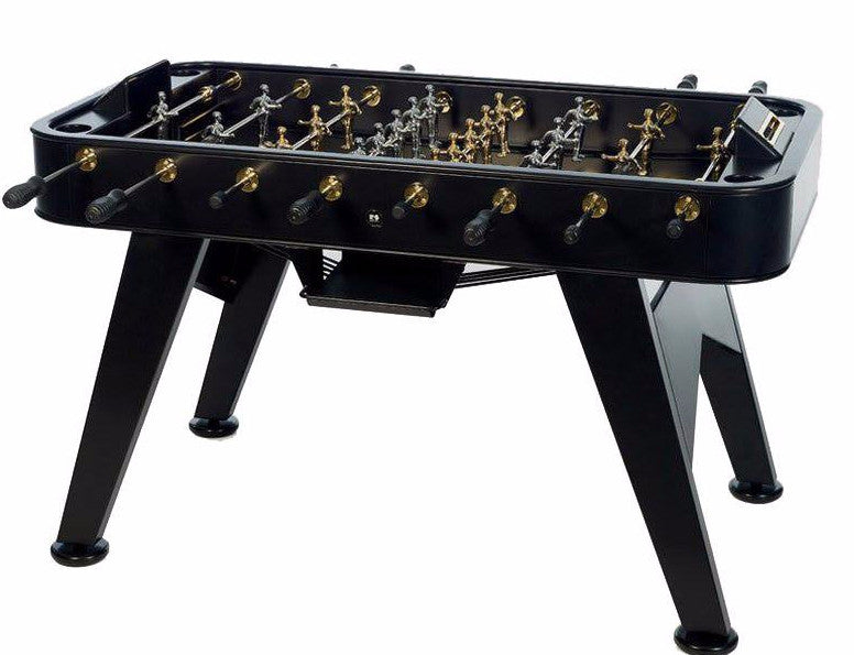 RS Barcelona RS2 Stainless Steel GOLD Outdoor Foosball Table