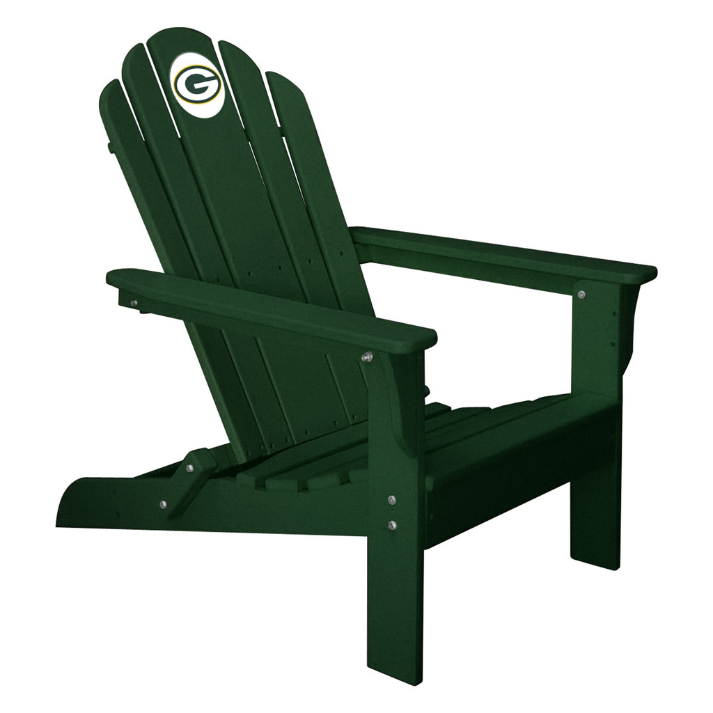 Imperial Green Bay Packers Green Folding Adirondack Chair