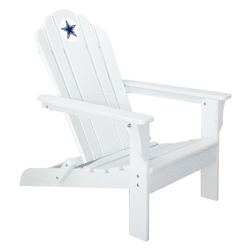 Imperial Dallas Cowboys White Folding Adirondack Chair