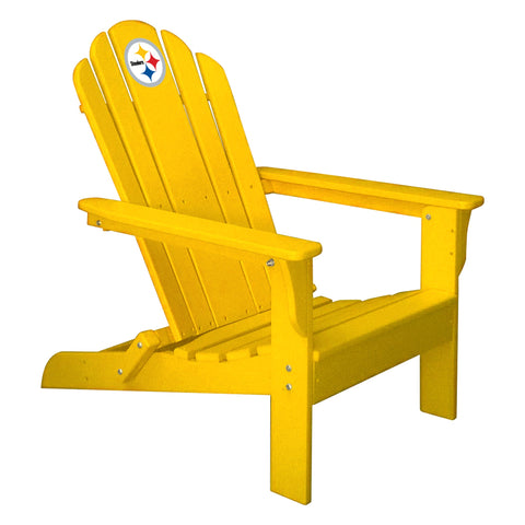 Imperial Pittsburgh Steelers Yellow Folding Adirondack Chair