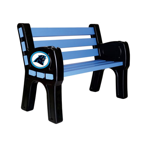Imperial Carolina Panthers Park Bench