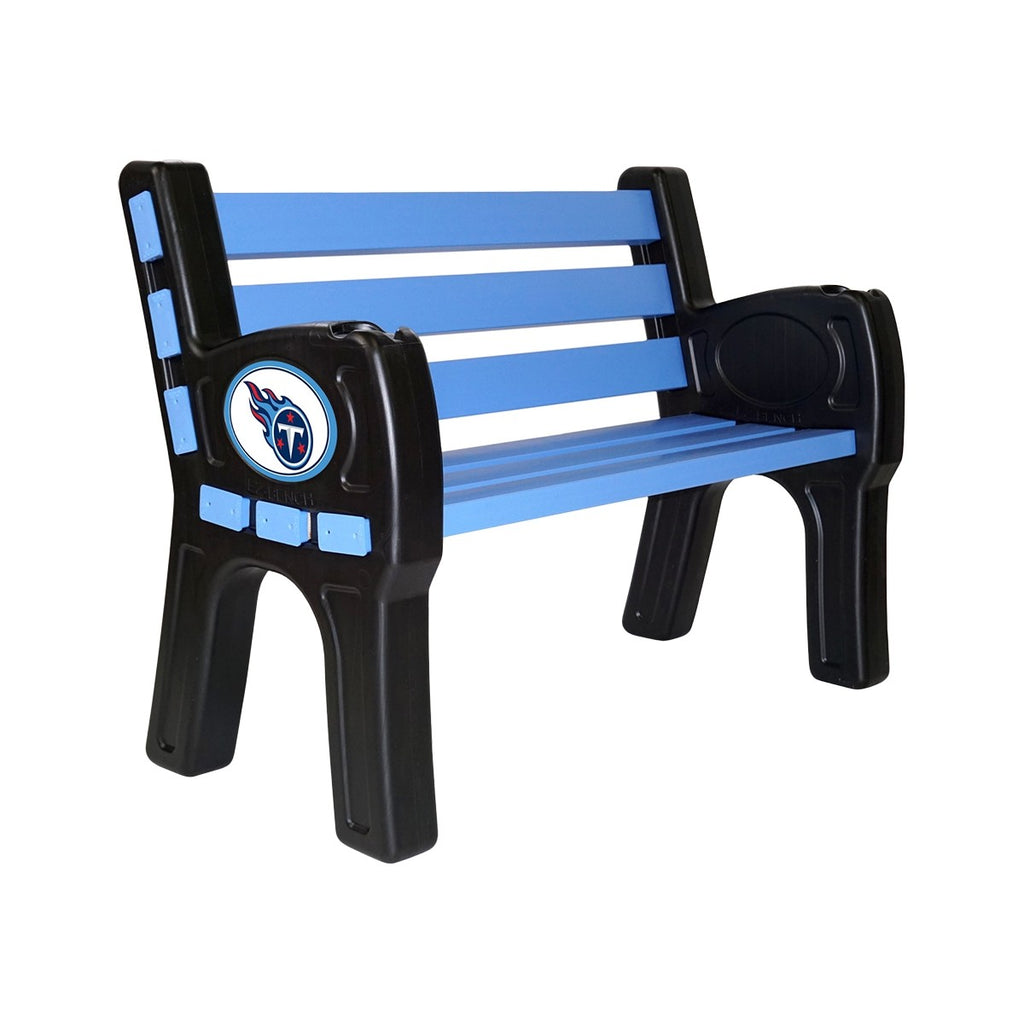 Imperial Tennessee Titans Park Bench