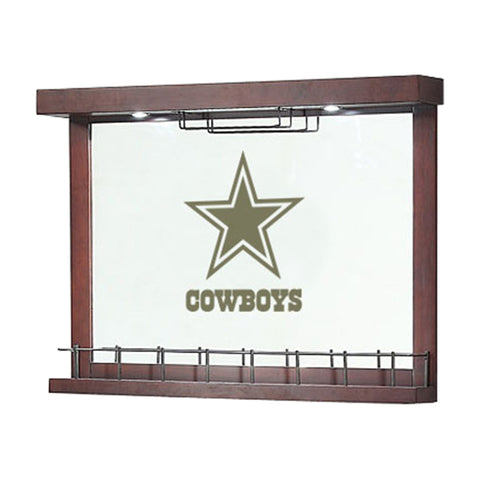 Imperial Dallas Cowboys Mirrored Wall Bar