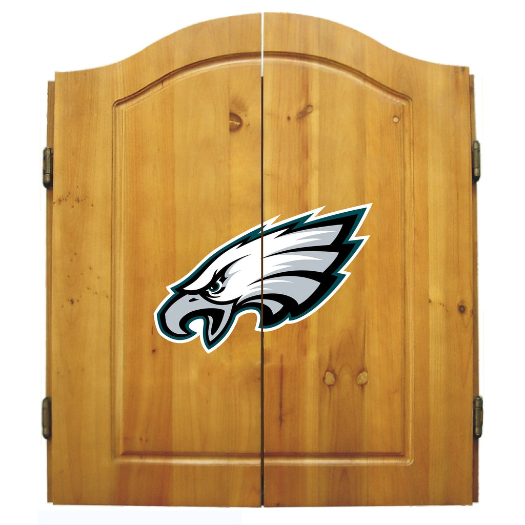 Imperial Philadelphia Eagles Dart Cabinet Set