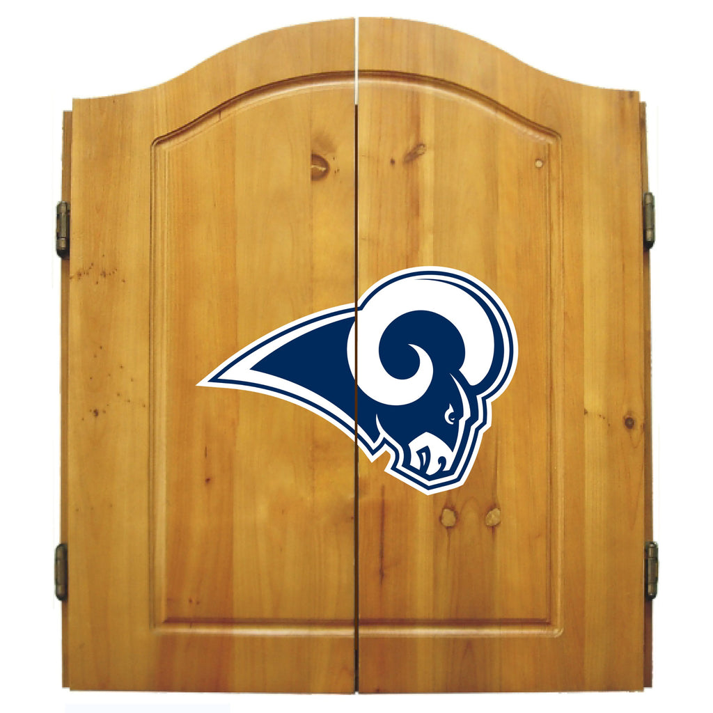 Imperial Los Angeles Rams Dart Cabinet Set