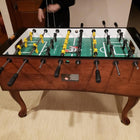Tornado Madison Mahogany Foosball Table Maple