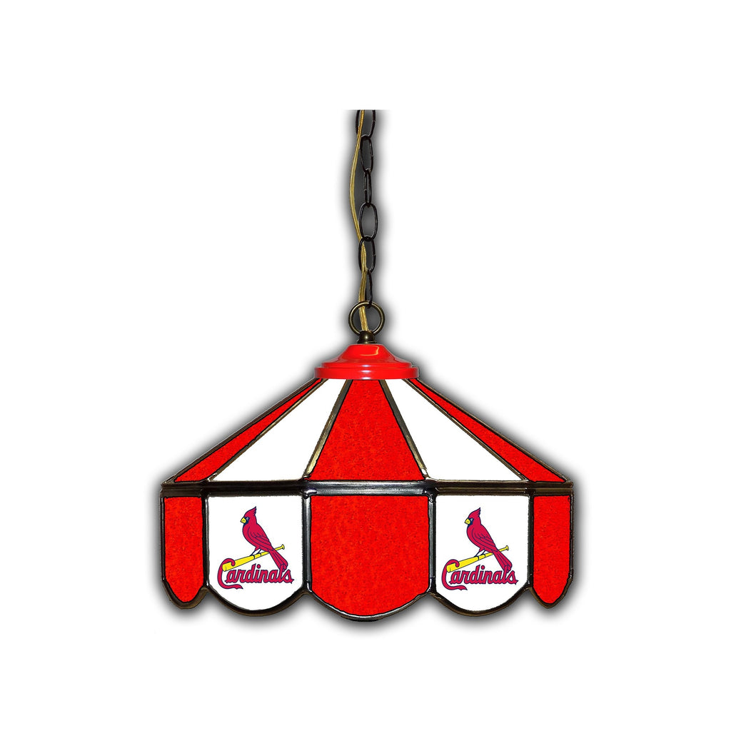 Imperial St. Louis Cardinals 14-in. Stained Glass Pub Light