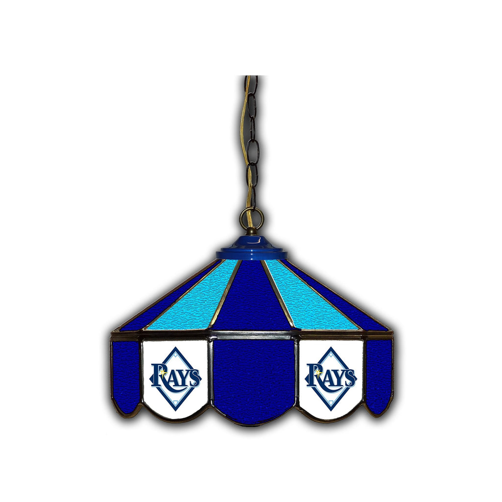 Imperial Tampa Bay Rays 14-in. Stained Glass Pub Light