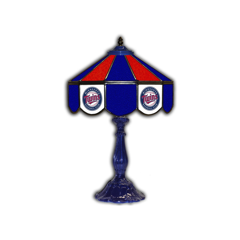 "Imperial Minnesota Twins 21"" Glass Table Lamp"
