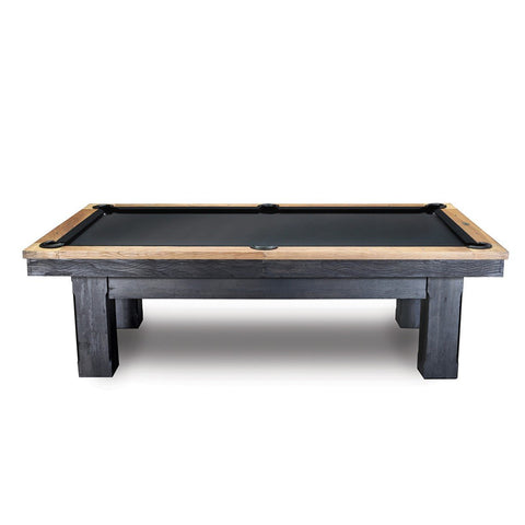 The Imperial Oakland 8' Black Pool Table