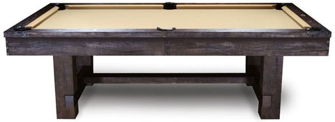 The Imperial Reno Antique Walnut Pool Table