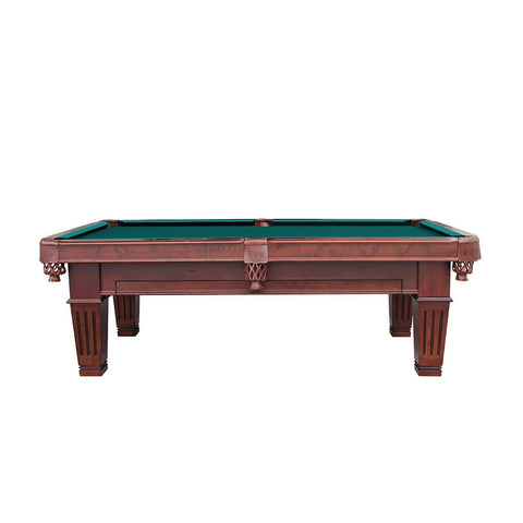 The Imperial Wyckoff 8' Antique Walnut Pool Table
