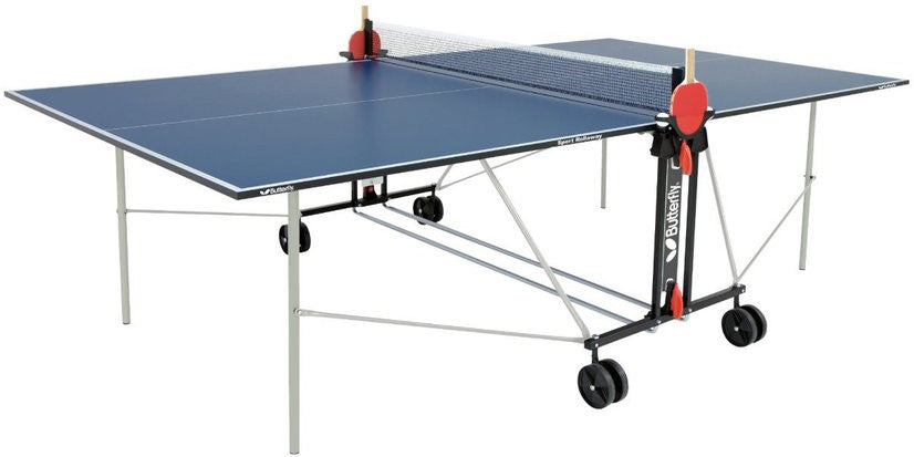 Butterfly Sport Rollaway Blue Table Tennis Table
