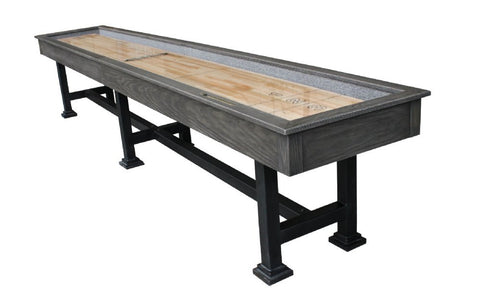 "Berner ""The Urban"" 14' Shuffleboard Table in Midnight"